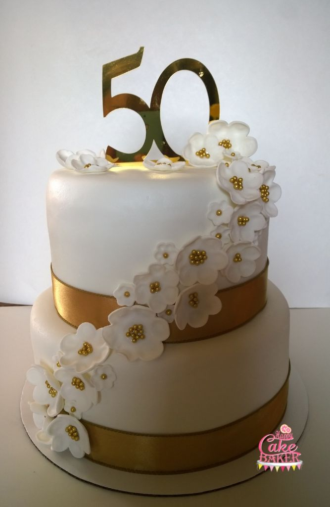 50th Wedding Anniversary Cakes.50th Wedding Anniversary Happy Cake Baker