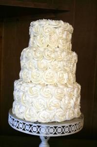 Simple Elegant Cake hcb