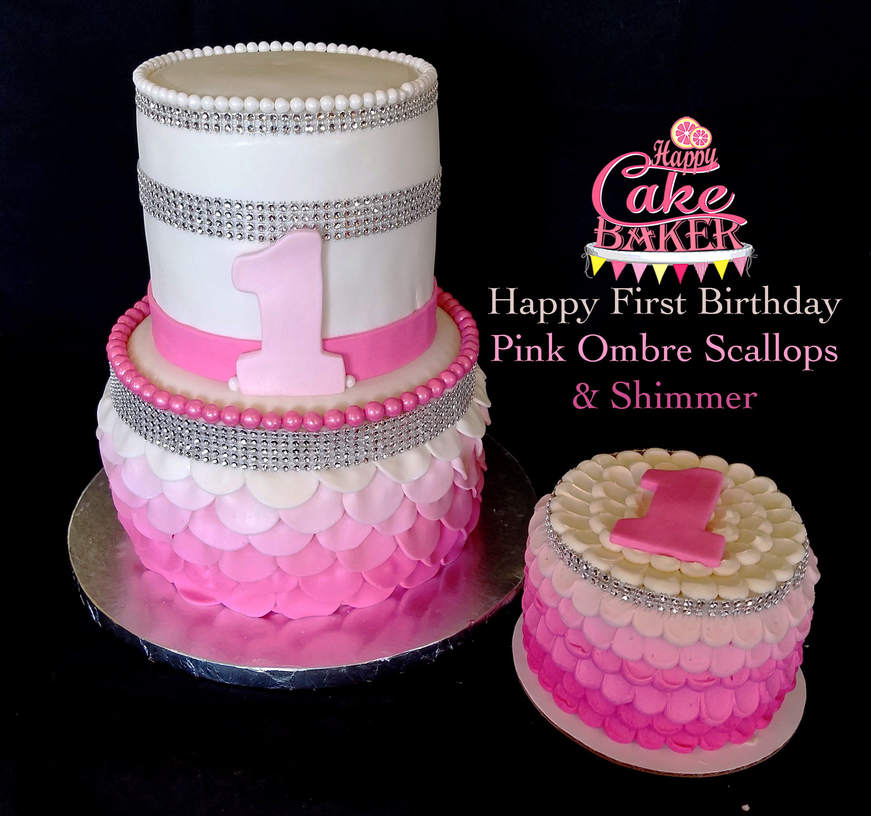 FirstBirthdaySetScallopsAndShimmer